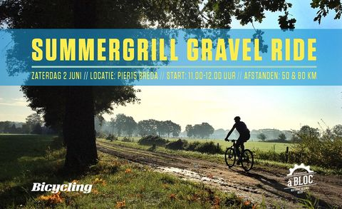 Summergrill Gravel Ride, routes, inschrijven, gravel, A bloc, events