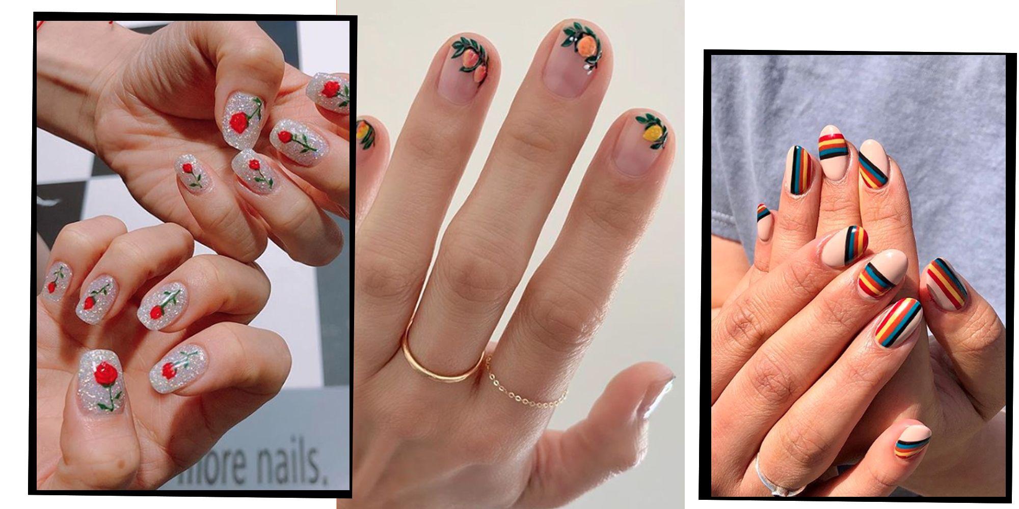 21 Best Summer Nail Art Designs Cool Manicure Ideas For Summer 2019