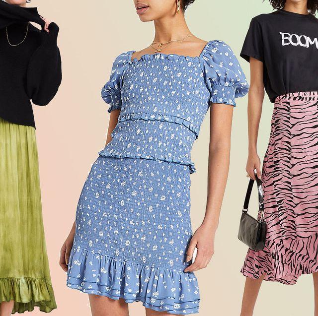 d44087de3ae 20 best summer skirts - long, knee-length and midi summer skirts