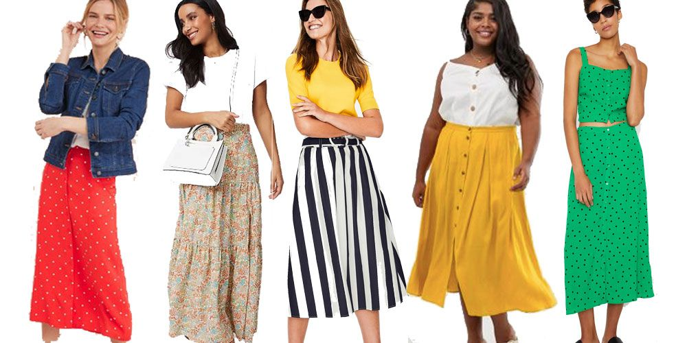 casual summer skirts