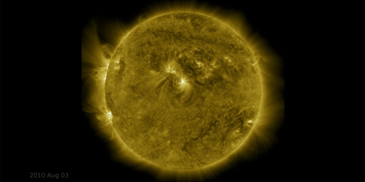 NASA's Decade-Long Time Lapse of Our Fiery Sun Is Absolutely Breathtaking