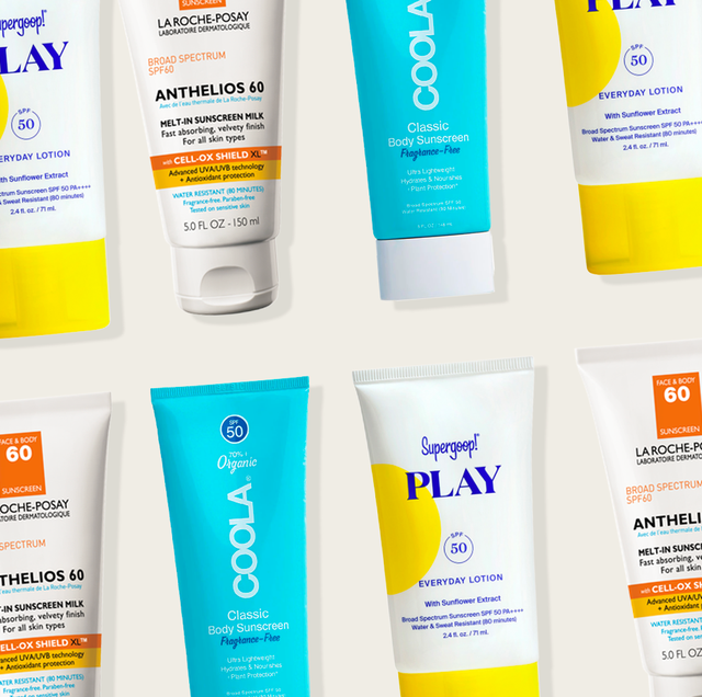 best body lotions with spf