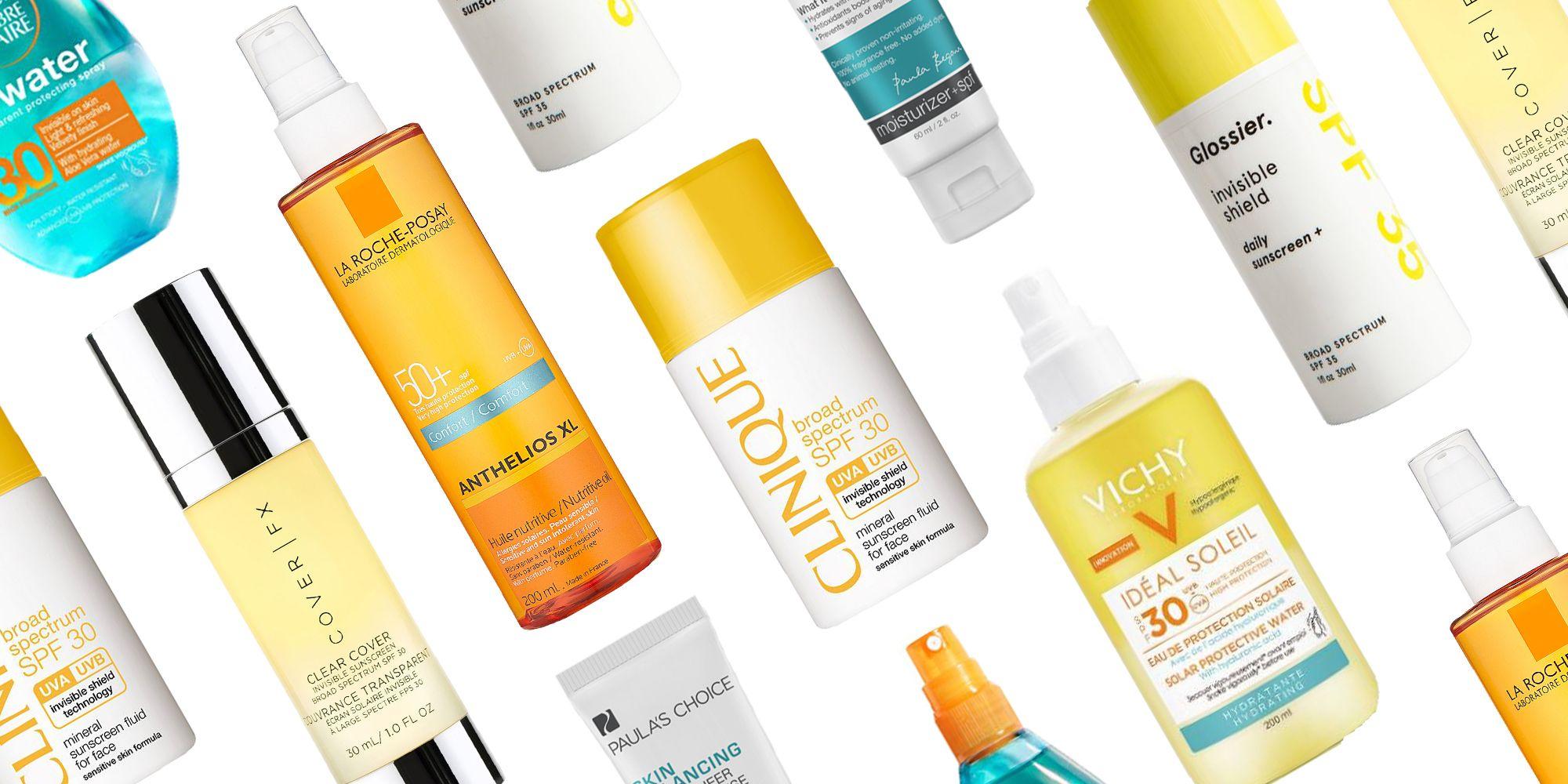 Sun cream for dark skin tones