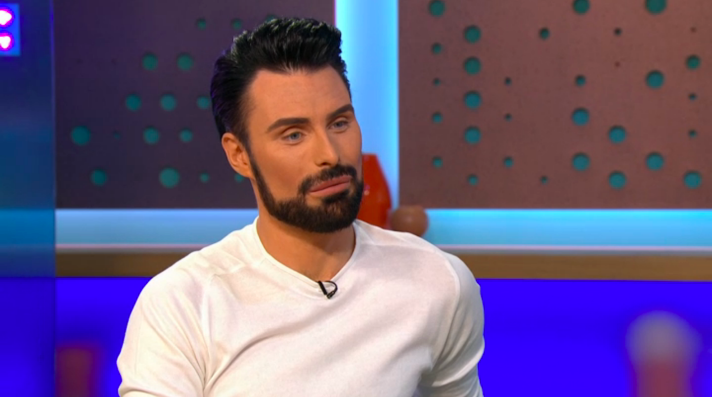 Rylan Clark-Neal responds to claims he's fallen out with Strictly: It Takes Two co-star Zoe Ball live on Sunday Brunch