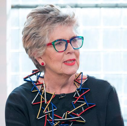 mandatory credit photo by steve meddleshutterstock 9983559cq prue leith sunday brunch tv show, london, uk   18 nov 2018