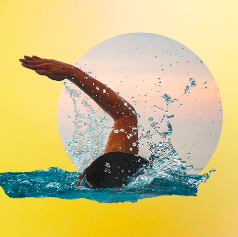 Water, Illustration, Graphics, Graphic design, Liquid, Physical fitness,