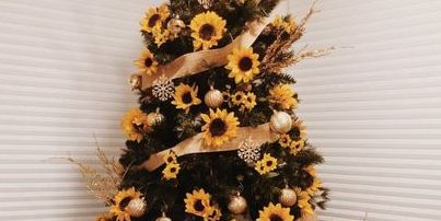Sunflower Christmas Trees Is A Top Pinterest Christmas