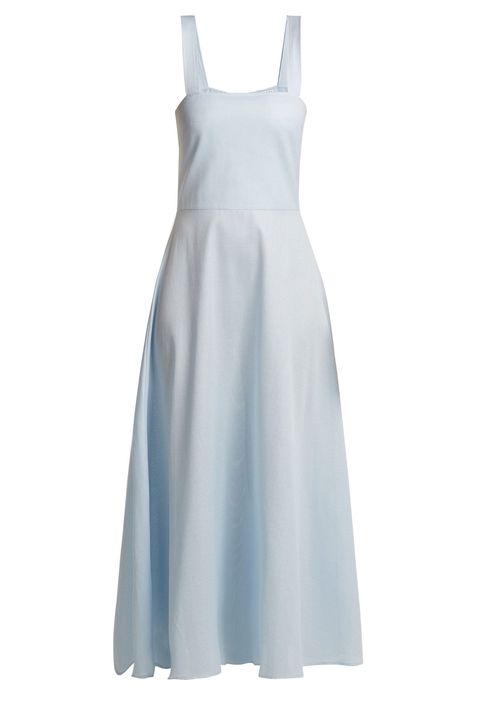 Gioia Bini blue cotton summer dress