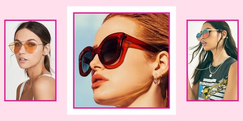 Eyewear, Sunglasses, Glasses, Face, Cool, Chin, Nose, Eyebrow, Head, Beauty,