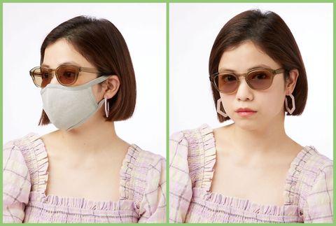 サングラス マスク