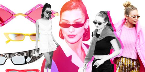 1e0e48983dd4 Will the Tiny Sunglasses Trend Last  - Small Sunglasses Styles