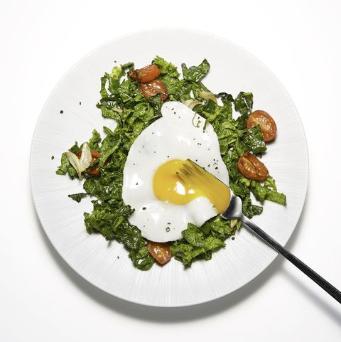 keto eggs and greens recipe