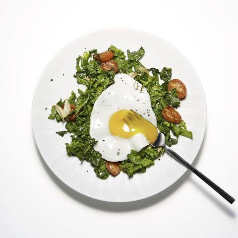 keto eggs and greens recipe