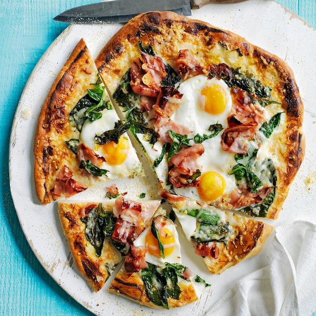 sunny side up pizza recipe