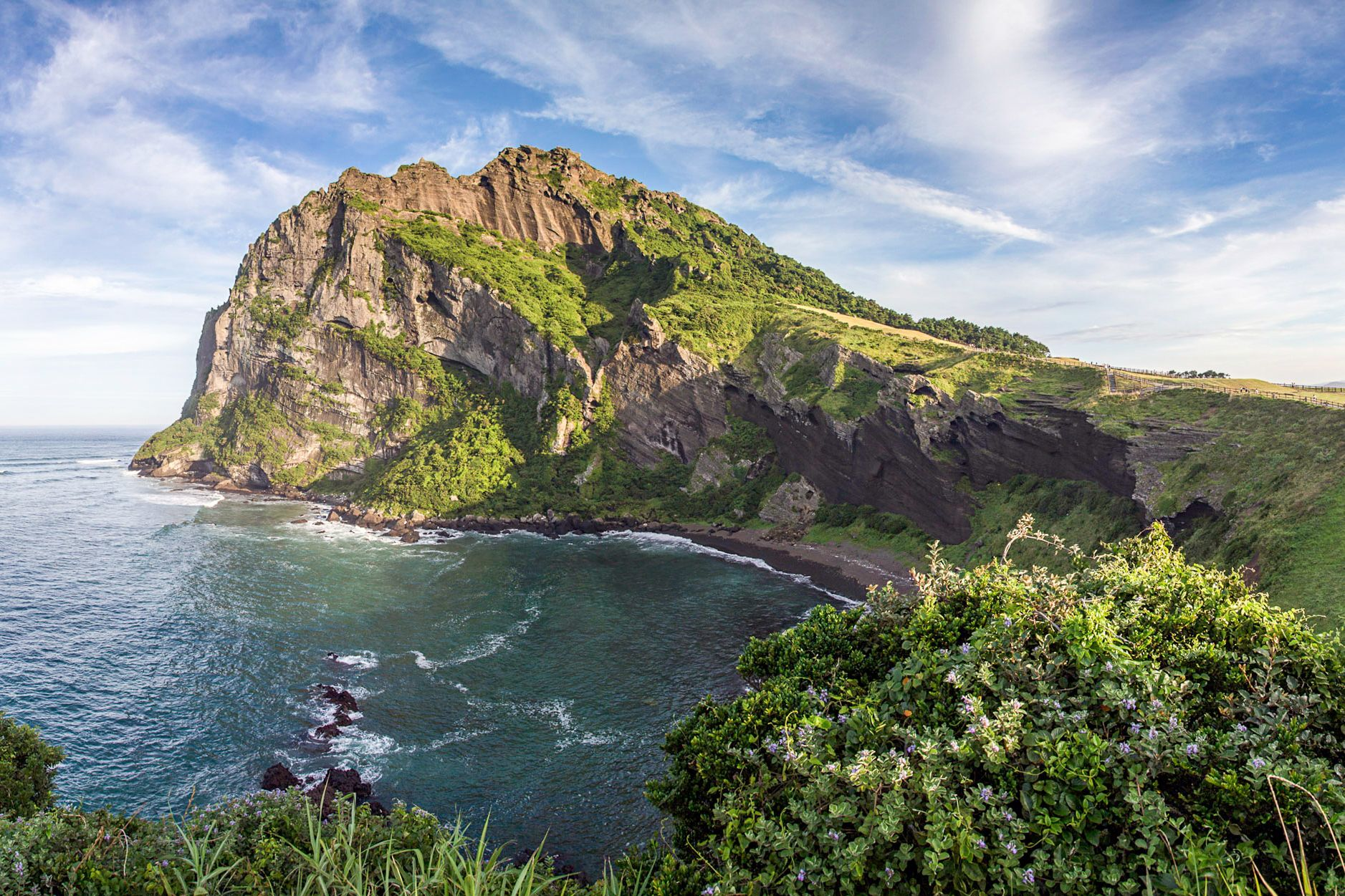 Sunrise Peak Panorama, Jeju Island