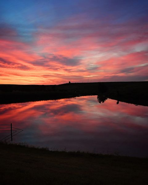 sunrise, drummond ranch, by ree drummond