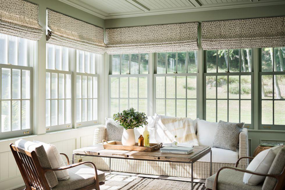 Elle Decor & 20+ Best Sunroom Ideas - Screened in Porch \u0026 Sunroom Designs