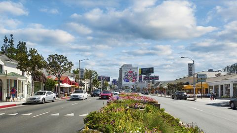 Residential area, Town, Road, Urban area, Neighbourhood, Street, City, Human settlement, Daytime, Sky,