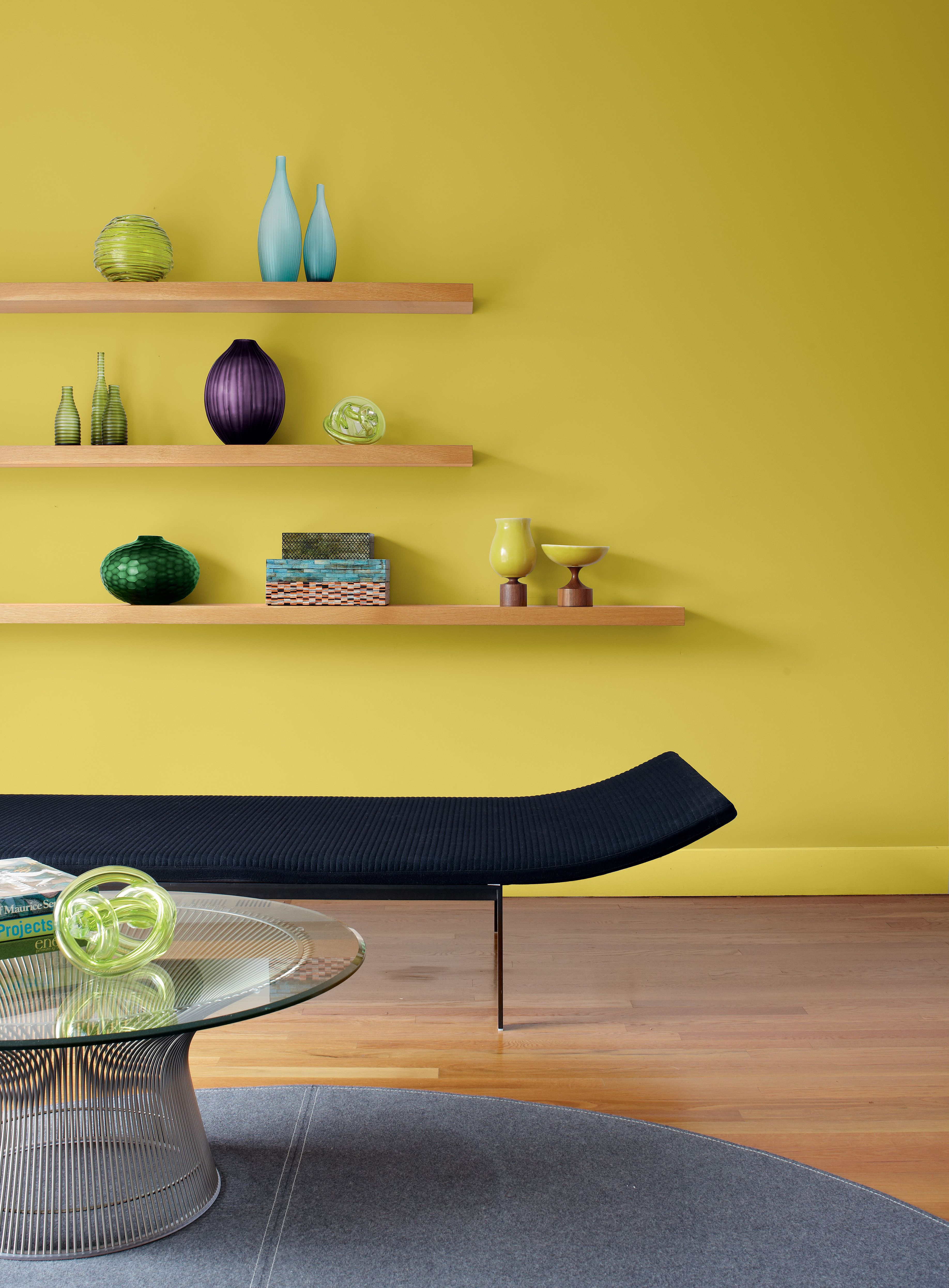 6 ways to use yellow paint at home for a burst of happiness all year round