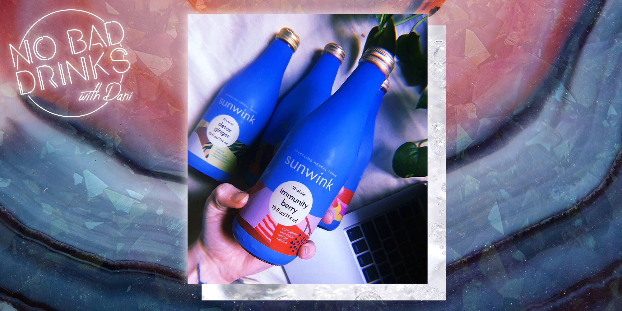 Kombucha Who? Sunwink Is the Sparkling Wellness Drink You Should Be Sipping