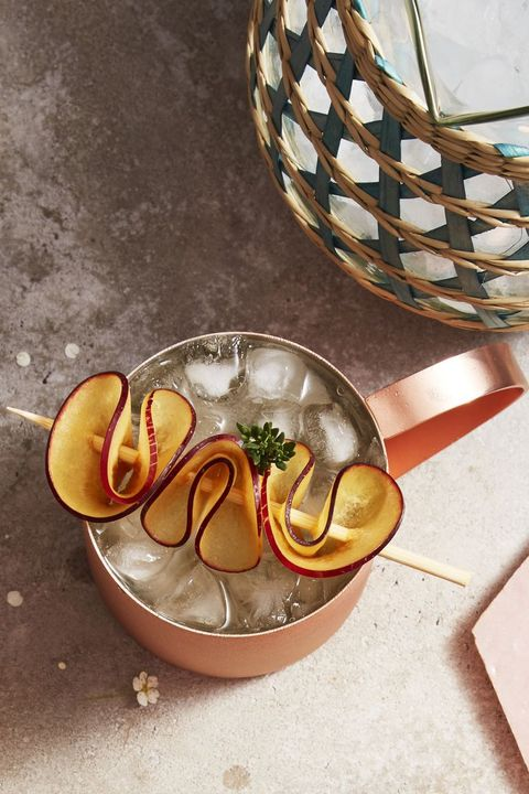 thyme plum moscow mule