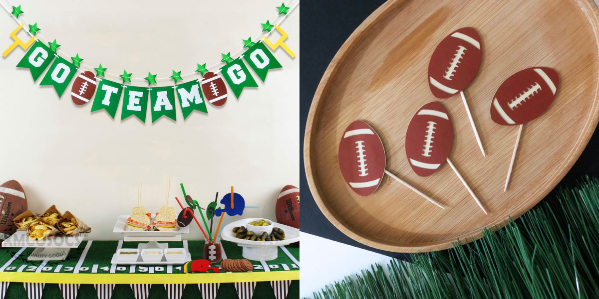 13 Super Bowl Party Decoration Ideas for the Perfect Game Night Celebration