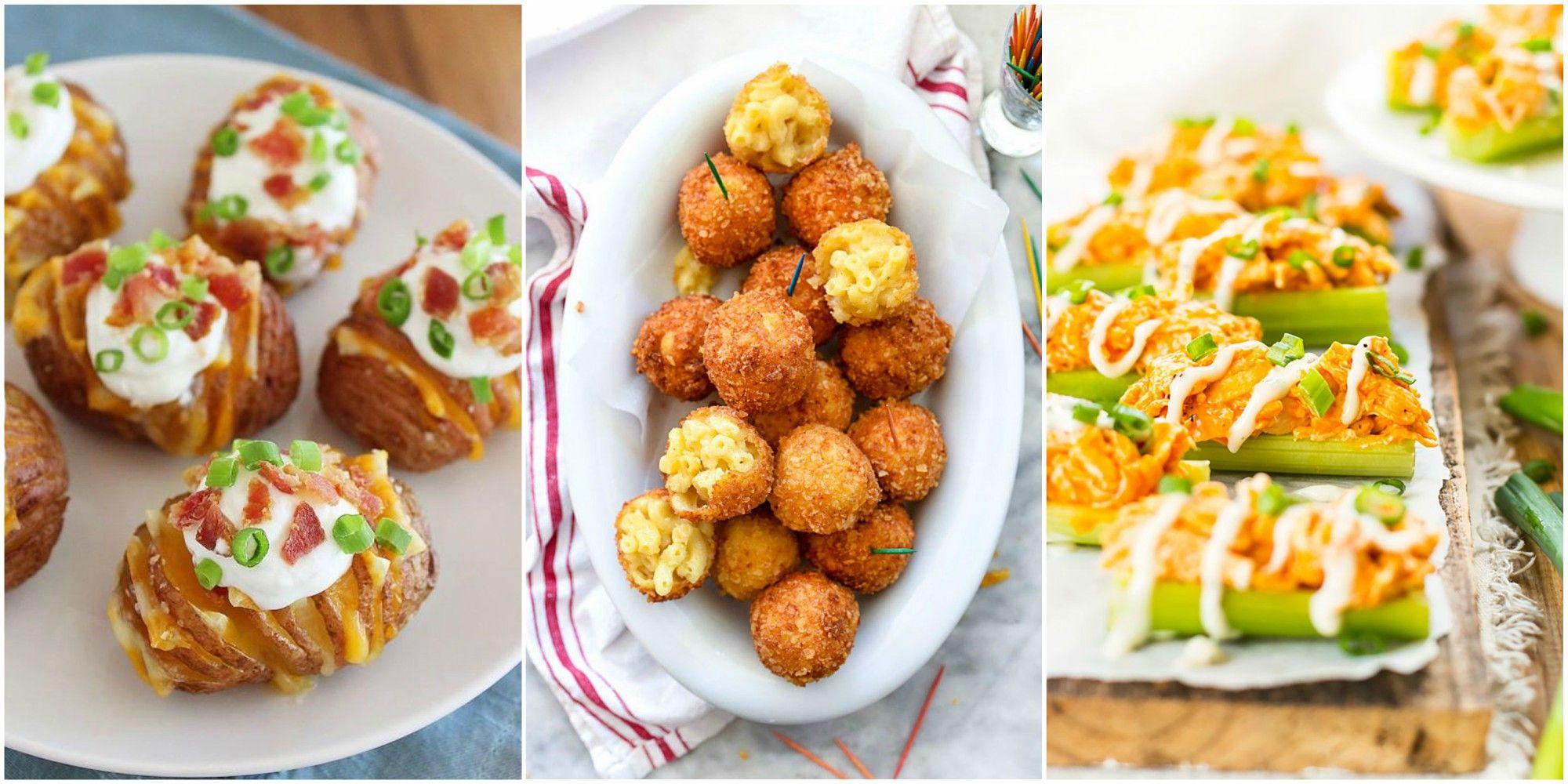 45 best super bowl snacks - appetizer recipes for a super bowl party