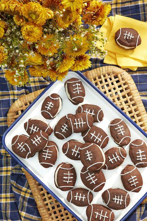 Super Bowl Snacks Whoopie Pies