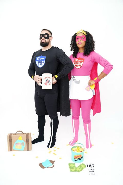 damask love super hero costume
