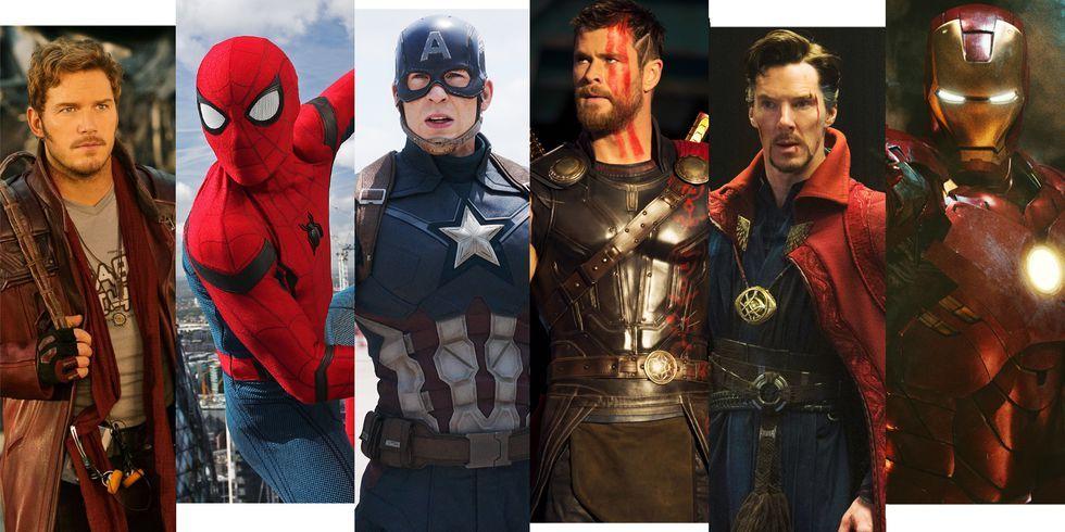 Resultado de imagen para mcu super heroes