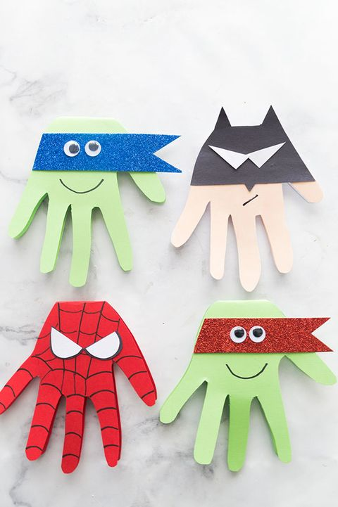 Father's Day Crafts Preschool - The Best Ideas for Kids Super Hero Craft