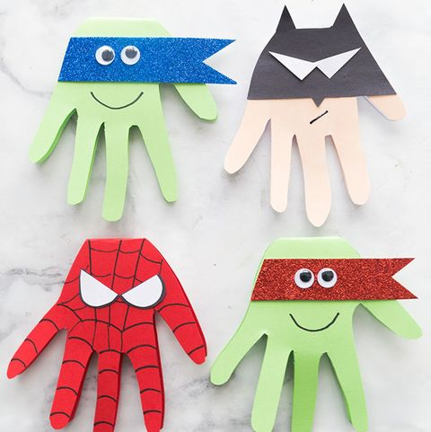 father's day crafts preschool the best ideas for kids super hero craft