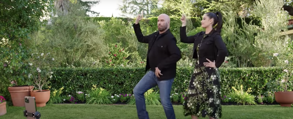 <p>View John Travolta Recreate an Iconic <em>Grease</em> Dance in This Super Bowl Ad thumbnail