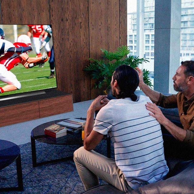 superbowl tv setups
