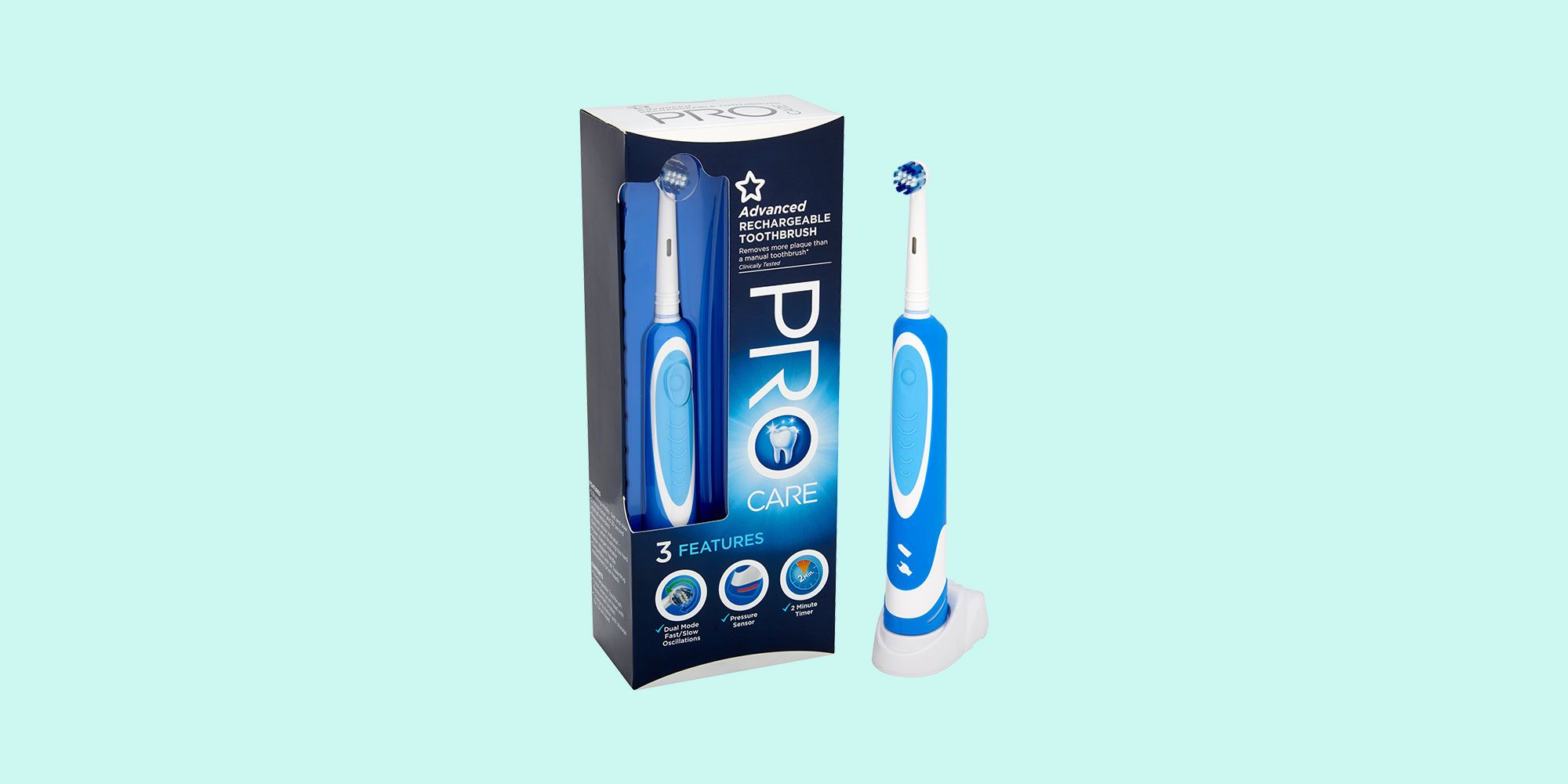 Superdrug Advanced Rechargeable Toothbrush Review