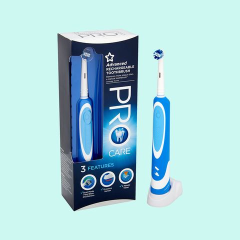 Superdrug Advanced Rechargeable Toothbrush