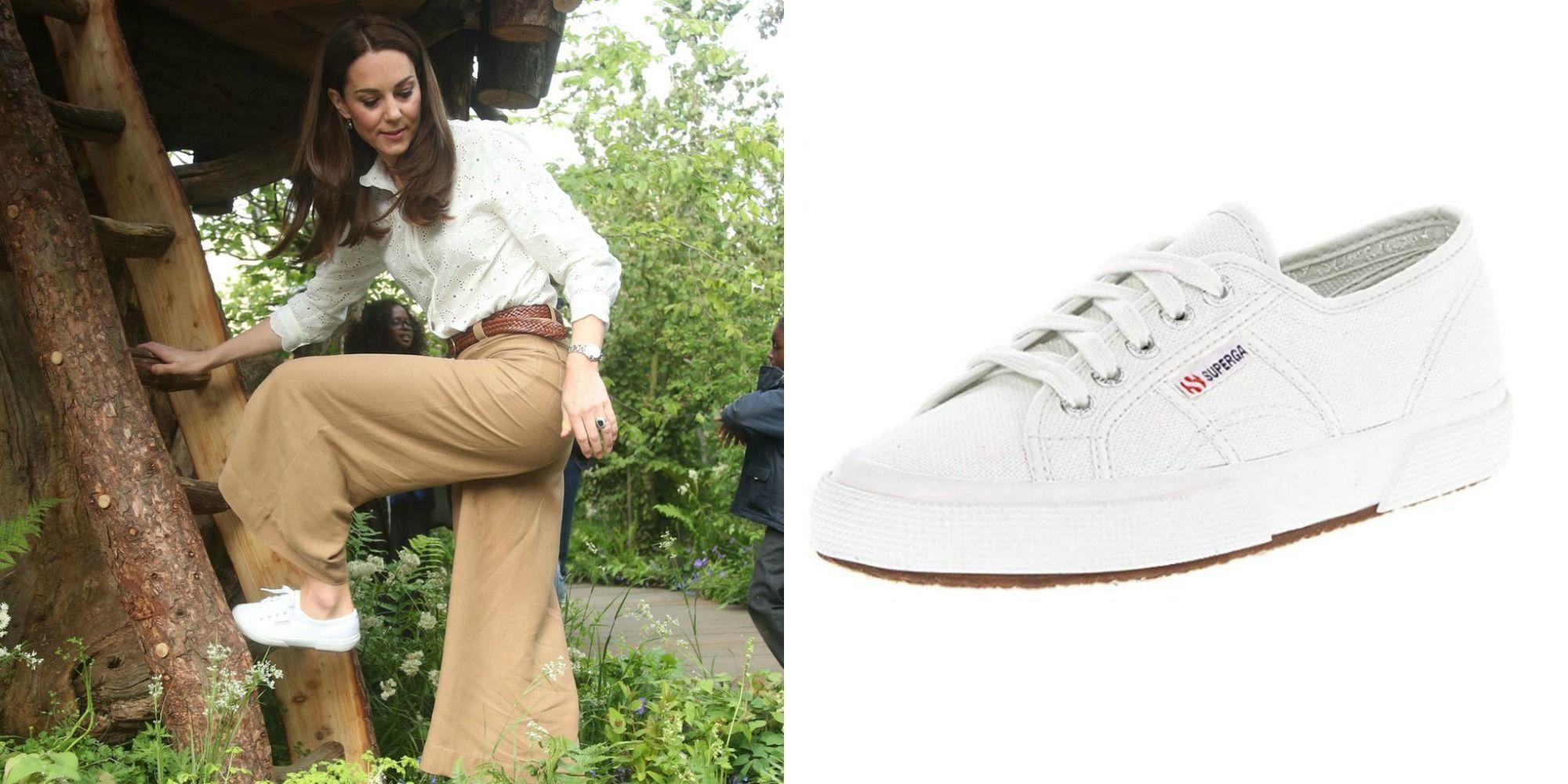 Kate Middleton's Superga Cotu Sneakers