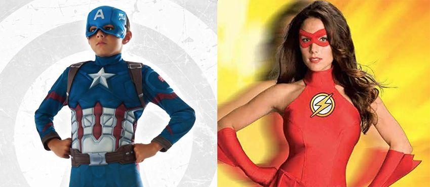 30 Superhero Halloween Costumes That Seriously Kick Butt