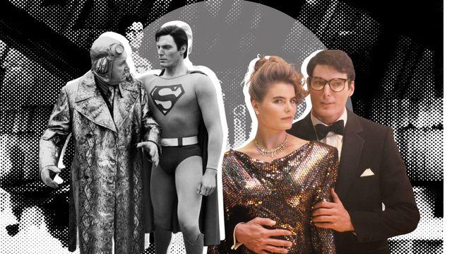 gene hackman, christopher reeve y mariel hemingway en superman 4, la película que arruinó la franquicia