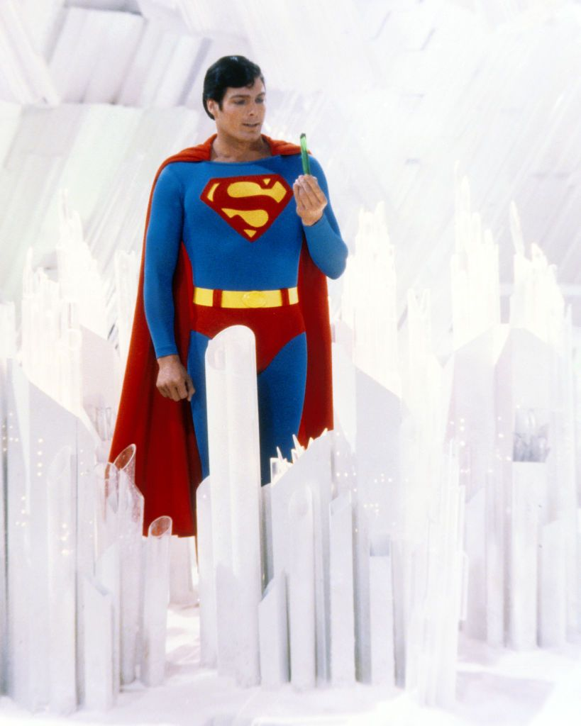 reeve en tant que superman