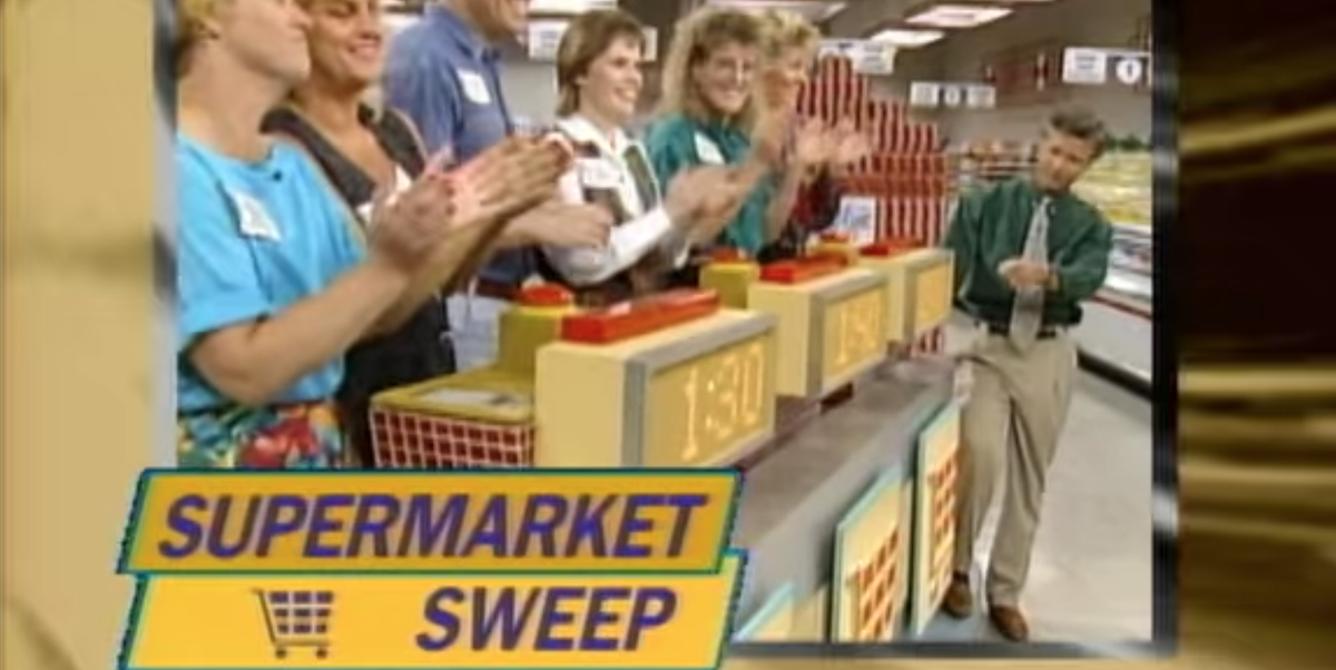 'Supermarket Sweep' Is Now On Netflix, Because The Universe Knew We Needed This