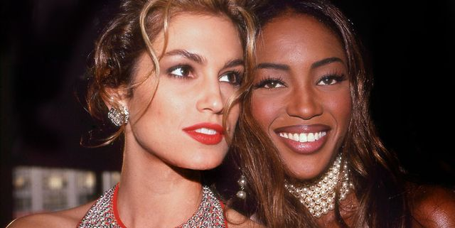 models cindy crawford and naomi campbell
