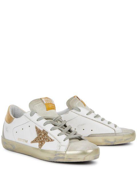 golden goose superstar仿舊帆布鞋
