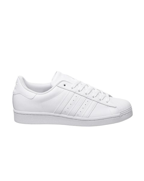 adidas superstar trainers all white