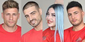 Supervivientes: vota al ganador: Albert, Fabio, Mahi, Omar Montes