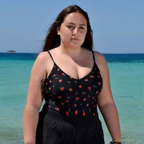 Rocío Flores, concursante de 'Supervivientes 2020' en  bañador