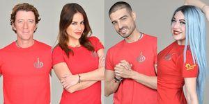 Colate, Mónica, Fabio y Mahi son los nominados deSupervivientes