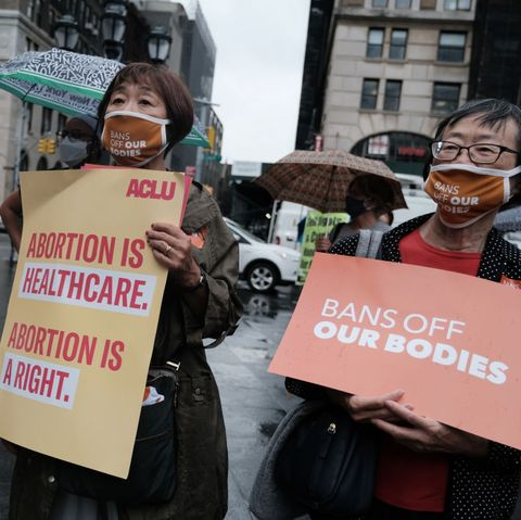 abortion rights rally at brooklyn's borough hall