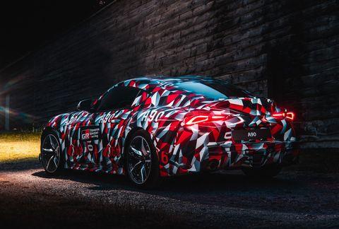 2019 Toyota Supra New Supra Features