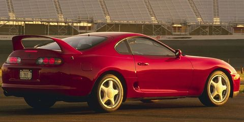 Toyota Will Sell New Parts for Old Supras